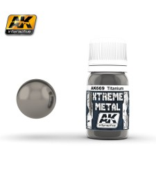 AK-669 XTREME METAL TITANIUM  (30 ml) - Металайзер Xtreme