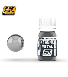 AK-670 XTREME METAL STAINLESS STEEL  (30 ml) - Металайзер Xtreme