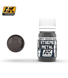 AK-671 XTREME METAL SMOKE METALLIC  (30 ml) - Металайзер Xtreme