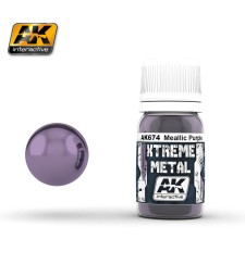 AK-674 XTREME METAL METALLIC PURPLE  (30 ml) - Металайзер Xtreme