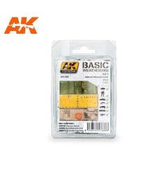 AK688 BASIC WEATHERING SET - Основен състаряващ комплект (3 x 35 ml)