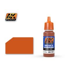 AK707 MEDIUM RUST - Акрилна боя от синя серия (17 ml)