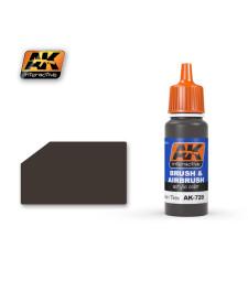 AK720 RUBBER & TIRES - Акрилна боя от синя серия (17 ml)