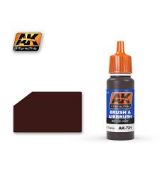 AK721 RUSTY TRACKS - Акрилна боя от синя серия (17 ml)