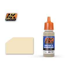 AK724 DRY LIGHT MUD - Акрилна боя от синя серия (17 ml)