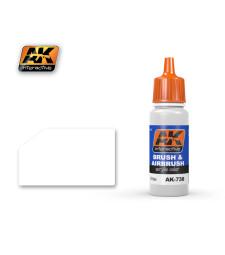 AK738 WHITE - Акрилна боя от синя серия (17 ml)
