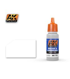 AK-751 WASHABLE WHITE PAINT - Акрилна боя от синя серия (17 ml)