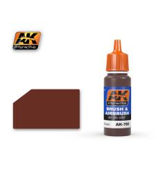 AK780 DARK WOOD GRAIN - Акрилна боя от синя серия (17 ml)