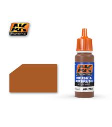 AK782 VARNISHED WOOD - Акрилна боя от синя серия (17 ml)