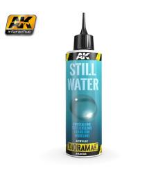 AK-8008 STILL WATER - (250 ml, Acrylic) - Текстуриращ продукт
