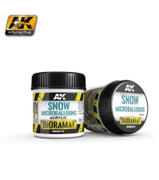 AK-8010 SNOW MICROBALLOONS - (100 ml) - Текстуриращ продукт