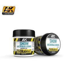 AK8010 Снежен ефект: SNOW MICROBALLOONS - (100 ml) - Текстуриращ продукт