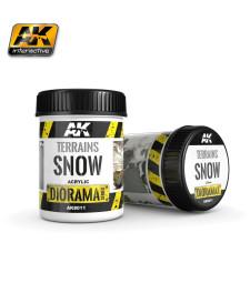 AK-8011 TERRAINS SNOW - (250 ml, Acrylic) - Текстуриращ продукт