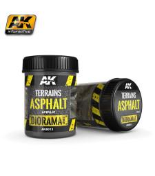 AK8013 Текстура за терен: Асфалт (TERRAINS ASPHALT) - (250 ml, акрил) - Текстуриращ продукт