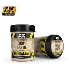 AK-8021 TERRAINS LIGHT EARTH - (250 ml, Acrylic) - Текстуриращ продукт