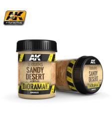 AK-8022  TERRAINS SANDY DESERT - (250 ml, Acrylic) - Текстуриращ продукт