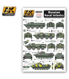 AK803 Russian Naval Infantry - Декали