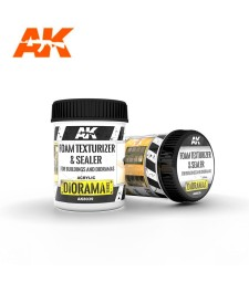 AK8039 FOAM TEXTURIZER & SEALER – FOR BUILDINGS AND DIORAMAS 250ML - Текстуриращ продукт