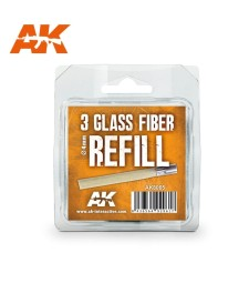AK8065 Glass Fibre Refills - 3 x 4mm - Пълнители за молив от стъклени влакна AK8058