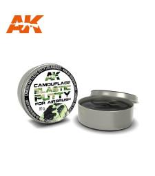 AK8076 Еластична маска за камуфлаж (Elastic Masking Putty) (80gr)