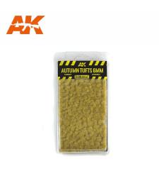 AK8116 Есенни туфи трева (6 mm) - Текстура за диорама