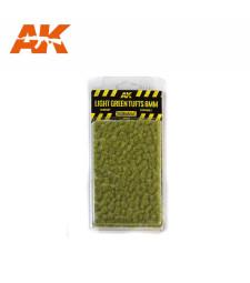AK8118 Светлозелени туфи трева (6 mm) - Текстура за диорама