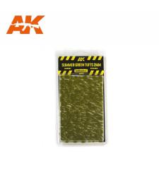 AK8124 Летни зелени туфи (2 mm) - Текстура за диорама