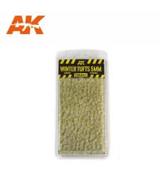 AK8121 Зимни туфи трева (5 mm) - Текстура за диорама