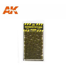 AK8128 Блатни туфи (8 mm) - Текстура за диорама