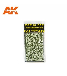 AK8131 Реалистичен тъмнозелен мъх - Текстура за диорама