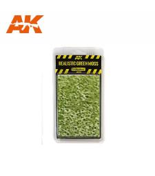 AK8132 Реалистичен зелен мъх - Текстура за диорама