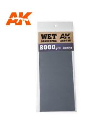 AK9036 Водна шкурка 2000 Grit. 3 броя