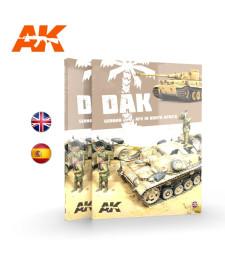 AK912 DAK – GERMAN AFV IN NORTH AFRICA (на английски език)