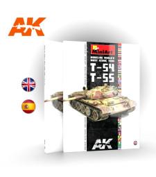 AK914 MODELING T54 – T55 MINIART (на английски език)