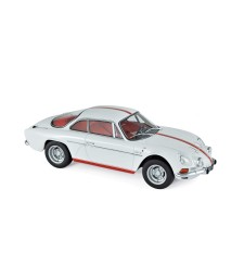 Alpine Renault A110 1600S 1971 - White with Red stripping