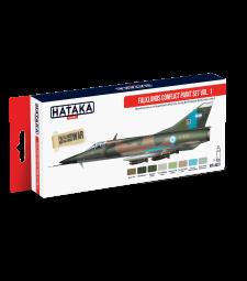 HTK-AS27 Falklands Conflict paint set vol. 1 (8 x 17 ml) - ЧЕРВЕНА СЕРИЯ -  КОМПЛЕКТ ЗА АЕРОГРАФ