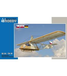 """1:48 Самолет SG-38 / ŠK-38 """"Czechoslovakia, Poland and East Germany"""