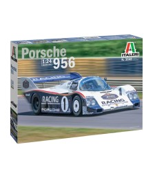1:24 Състезателен автомобил PORSCHE 956 24hrs Le Mans 1983