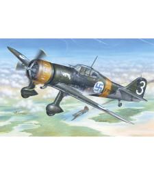 "1:48 Германски самолет Fokker D.XXI 3. sarja ""with Mercury engine"""