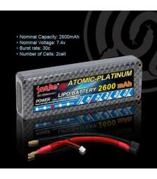 Литиево-полимерна батерия 7.4v 2600mAh 30C