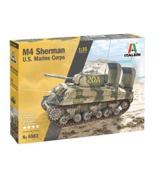 1:35 Американски среден танк на морската пехота М4 (M4  U.S. MARINES CORPS)