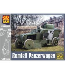 1:35 Австро-унгарски брониран автомобил от Първата световна война Romfell Panzerwagen