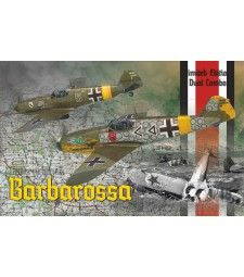 "1:48 Изтребители Bf 109 E and Bf 109 F-2 ""Barbarossa"" - комплект от 2 модела"