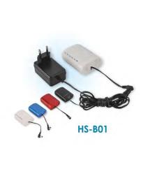 Батерия за компресор HS-B01 със зарядно (черна)