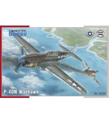 1:72 Американски боен самолет P-40N Warhawk