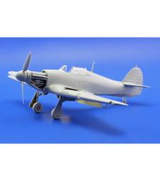 1:48 Комплект от фотоецвани части и маски за Hurricane Mk.I (ITALERI)