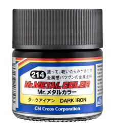 MC-214 Mr. Metal Color - Dark Iron  (10ml)