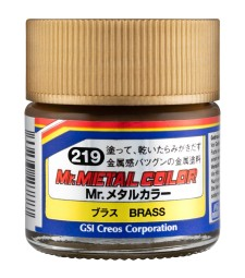 MC-219 Mr. Metal Color - Brass (10ml)