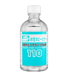 T-110 Разредител Mr. Aqueous Hobby Color  Thinner 110 (110 ml)