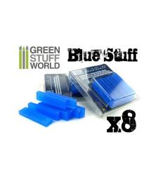 Blue Stuff Molds, 8 bars (6 gr)